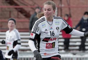 Elvira Gustavsson gjorde matchens enda mål mot Rynninge.