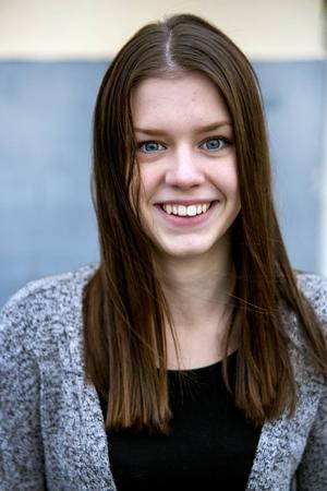 Wilma Falk är årets lucia i Haverö-Borgsjö församling.