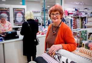 Margaretha Elmroth är med sina 78 år butiksveteran i Härnösand. Hennes Lust & Fägring har funnits i 37 år.