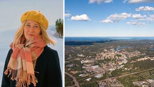 Bitti Alvin Lehmann, Näringslivsutvecklare på Söderhamns kommun, leder det projekt som sätter Söderhamn kommuns landsbygd i fokus.