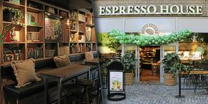 Så ser Espresso Houses lokaler vid Stortorget i Gävle ut. BILD: Elin Weiring