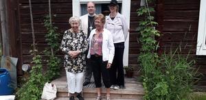 Elsa Frank, Eva Joelsson, Joakim Johansson och Margareta Jonsson. Läsarbild: Roland Lodén.