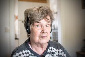 Viola Dahlström har fått hjälp av ett hemtagningsteam efter en lång sjukhusvistelse.