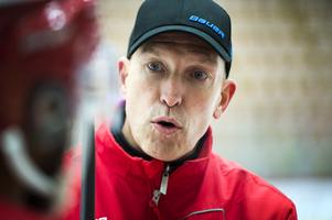 Fredrik Andersson var nöjd med laget efter tisdagens träning.