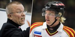 Boork blev Månssons första tränare i Elitserien. I Hockeypuls podd berättar han om kontakten med tränarprofilen. Foto: Erik Simander / BILDBYRÅN.