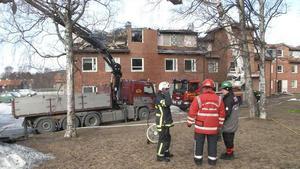 Räddningstjänstens egen utredning av branden visade att en rad misstag begåtts och utredningen ligger nu till grund för stämningen. Foto: Arkiv