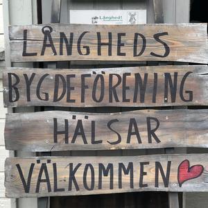 Välkommen till Långhed. Foto: Anita Johansson.