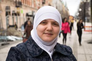 Layla Rafiaa, 33, undersköterska, Sundsvall: