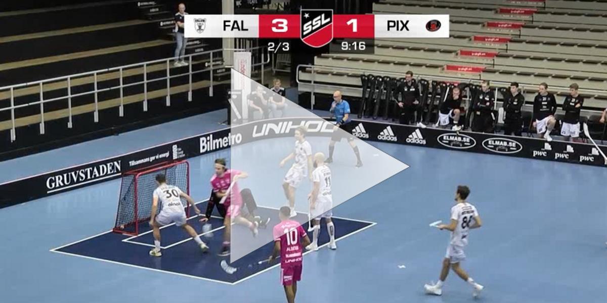 Höjdpunkter: Övertygande seger i SSL för Falun mot Pixbo – se målen här