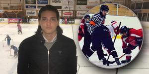 Adam Vikergård blev hotad till livet med anledning av att han är domare. Nu har spelaren som uttalade hotet blivit avstängd fram till mitten av oktober.