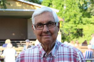 Tommie Hildman är ordförande i föreningen Horndals brukspark. Han avgick en kort stund som ordförande, men kärleken för föreningen gjorde att han återvände när nya styrelsemedlemmar visade sig vara svåra att värva.