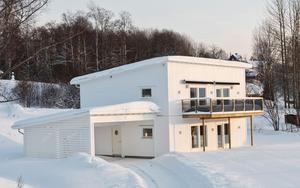 Linus Svedins första husprojekt från ritning till färdigt hus. Det stod klart i januari 2018.