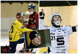 Anders Svensson ställs mot Christoffer Edlund när Edsbyn möter SAIK i toppmöte i Göransson Arena. Assisterande förbundskapten Stefan Söderholm har spelat i bägge lagen och ger sin syn på läget inför seriefinalen. FOTO: TT