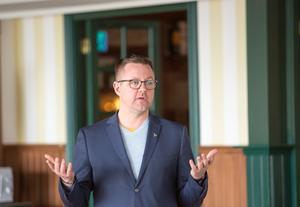Fredrick Federley (C) är den enda, bosatt i Dalarna, som toppar sitt partis lista till EU-valet den 26 maj.