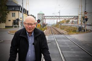 Försämrande möjligheter att arbetspendla oroar Christer Engberg hos Företagarna i Kramfors.