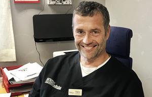 Hans Boberg, distriktsläkare på Nya Närvården i Hoting.