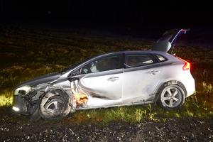 Fem personer inblandade i trafikolycka i Nyland.