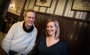 Jan Dufva och Camilla Westman berättar om den nystartade ideella kulturföreningen Norrlandsteatern, med säte i Örnsköldsvik.