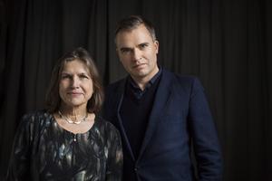 Ingrid Elam och Jerker Virdborg.Pressfoto: Martin Stenmark