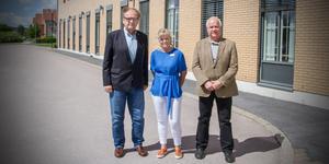 Nu har Barn-och utbildningsnämnden beslutat sig för vilket förslag från tjänstemännen för skola och förskola som de anser är bäst för kommuninvånarna. Här Anders Röhfors (M), kommunalråd, Ulrika Hansson, skolchef och Hans Ivarsson (C), barn-och utbildningsnämndens ordförande.