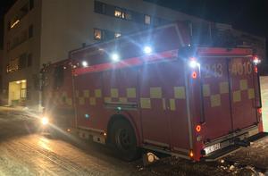 När räddningstjänsten kom fram till platsen var branden redan släckt.