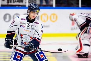 Nikola Pasic valdes av New Jersey Devils i NHL-draften nyligen. Foto: Bildbyrån