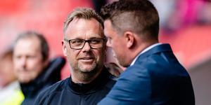 Jocke Gunnarsson lämnar uppdraget som assisterande tränare i VSK efter mötet med Dalkurd. Foto: Jonas Ljungdahl / BILDBYRÅN