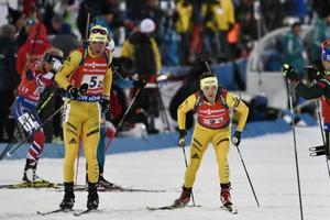 Linn Persson och Sebastian Samuelsson vid ett tidigare tillfälle