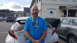 Per-Erik Axling med bronsmedaljen.