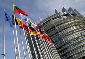 EU-parlamentet i Strasbourg.