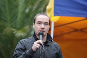 Riksdagsledamoten Kent Ekeroth (SD) vill diskutera svensk kultur.