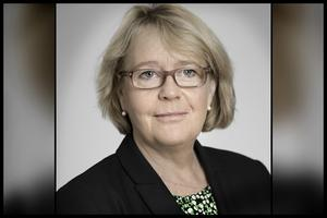 Irene Svenonius (M), ordförande i regionstyrelsen. Bild: Region Stockholm