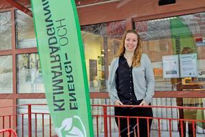 Evelina Nordström är energi- och klimatrådgivare i Västra Mälardalen.