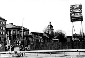 Planerna inleddes 1967, först sex år senare kunde Domus invigas.