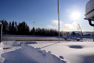 Många klubbar har bokat tider på Ånge IP.