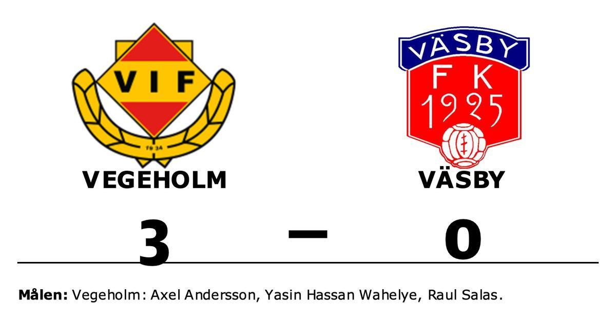 Vegeholm slog Väsby på hemmaplan