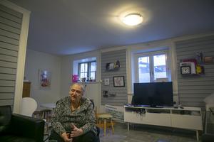 – Vårt mål är att få mannen att flytta ut från kvinnans skalle, säger Jessica Rundberg.