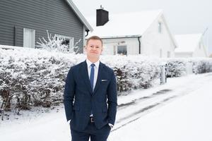 Marcus Svanberg, vd på Länsförsäkringar Fastighetsförmedling/Foto: Länsförsäkringar.