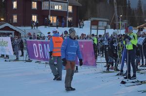 Tommy Höglund vid starten av Öppet Spår i fjol.