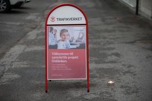 På torsdagskvällen hölls ett så kallat samrådsmöte i Eneskolan för att ta in synpunkter från de som är berörda av Ostlänken.