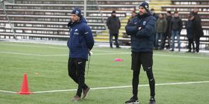 Henrik Rydström och Mirza Jelecak är nya tränare i Sirius – och Kayembe hoppas att han får chansen att debutera i allsvenskan under dem.