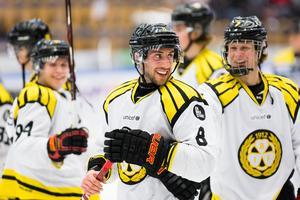 Aaron Palushaj gjorde två mål i Brynäs seger över HV71.Bild: Stefan Lantz/BILDBYRÅN