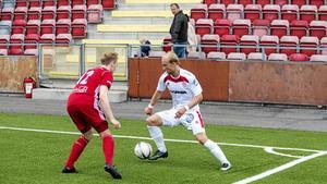 Love Reuterswärd var en av spelarna som hotade allra mest mot Skellefteå. Trots en stabil insats fick laget nöja sig med oavgjort.