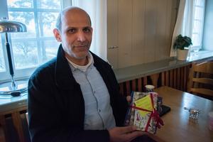 Abdalwahab Mohsen var rörmokare innan han kom till Sverige från Syrien för fyra år sedan. Nu utbildar han sig på Brunnsvik i hopp om att hitta ett jobb inom rörmokeri- eller byggbranschen.