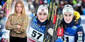 Ebba Andersson hade ytterligare en fin dag, när hon fick ta emot publikens jubel som trea under värlscupens 10 km i Ulricehamn. Sportens Camilla Westin listar fem heta punkter från loppet. Bilden är ett montage.