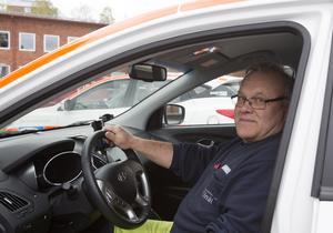 Lennart Vikberg har kört vätgasbil sedan i december.