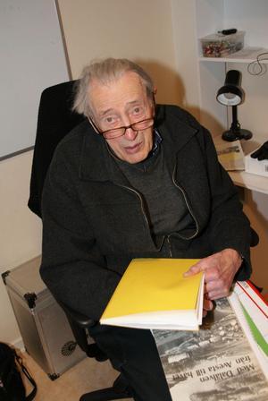 Axel Ingmar var partiets frontfigur till sin bortgång år 2011. År 2013 bytte partiet namn från Axel Ingmars Lista till Kommunlistan. Foto: Kerstin Eriksson