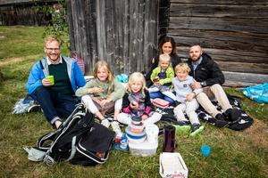Ragnar Liljekvist, Irma Liljekvist, Siri Liljekvist, Stina fors, Johanna Fors, Jalmar Fors och Per Martin