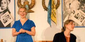 Albertina Wiksten, född i Matfors, har deltagit i Schymbergsgårdens masterclasses. Nu återvände hon till gården i en egen konsert tillsammans med pianisten Sara Ek.