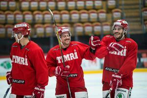 Jesper Dahlroth och Johan Persson var två av spelarna i fjolårets trupp som hade ett starkt band.